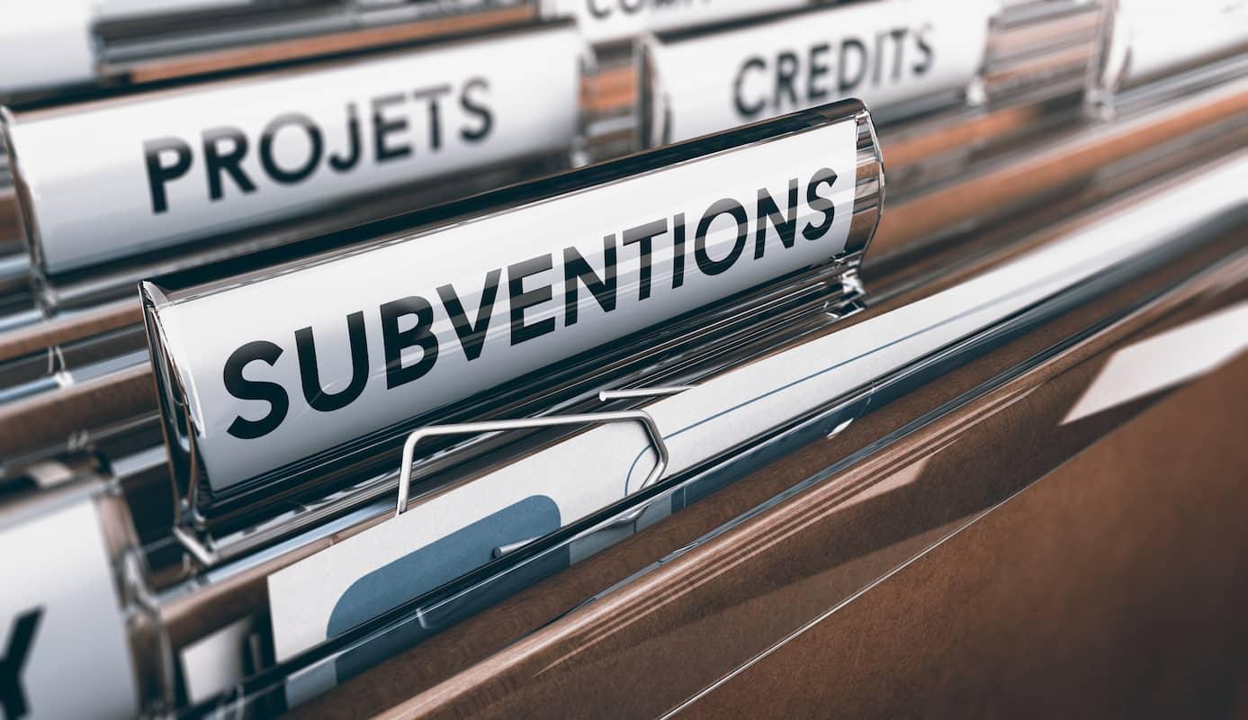 subventions aides financières aux entreprises