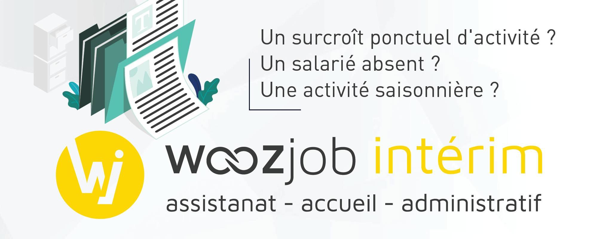 woozjob interim artisanat administratif accueil